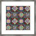 Diamond Quilt 2 Framed Print