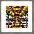 Dining In Style Framed Print
