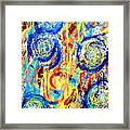 Disintegrated Element Framed Print