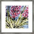 Divine Blooms-21057 Framed Print