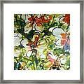 Divine Blooms-21203 Framed Print