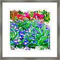 Do-00221 Flowers Framed Print