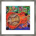 Dobro - Slide Guitar Framed Print