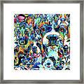Dog Lovers Delight - Sharon Cummings Framed Print