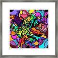 Dolphin Kaleidoscope Framed Print