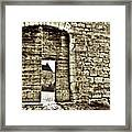 Door To Salvation Framed Print