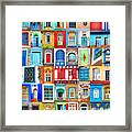 Doors And Windows Of The World - Vertical Framed Print