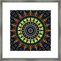 Dotted Wishes No. 3 Kaleidoscope Framed Print
