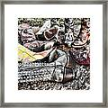 Down Boots Up Boots Framed Print