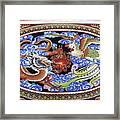 Dragon And Bird Framed Print