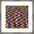 Drawing Abstract # 8455wtr Framed Print