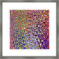 Drawing Color Abstract#5335wctw Framed Print