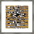 Drawing Composition Abstract Framed Print