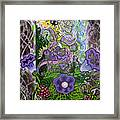 Dream Of The Bee Framed Print