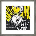 Eagle And Bear Framed Print