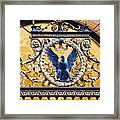 Eagle In The Middle Framed Print