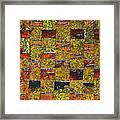 Earths Tapestry Framed Print