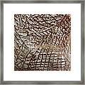 Earths Yield - Tile Framed Print