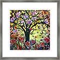 Eden Garden Framed Print