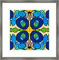 Edible Extremes Abstract Bliss Art By Omashte Framed Print