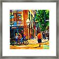 Eggspectation Cafe On Esplanade Framed Print