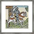 El Cid Campeador (1040?-1099) Framed Print
