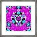 Electric Purple Framed Print