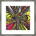 Electric Ripples Framed Print