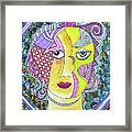 Electric Thoughts Framed Print