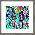Elefante Framed Print