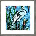 Elegant White Heron Framed Print
