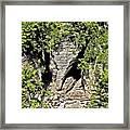 Elephant Head ...  Framed Print