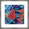 Eletric Fish Framed Print