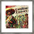 Emiliano Zapata Inmortal Framed Print