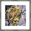 Emo Alpaca Framed Print