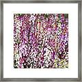 Endless Field Of Flowers Framed Print