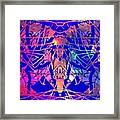 Enigma In Abstraction Framed Print