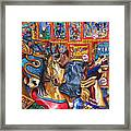 Escape from Coney Island Framed Print
