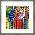Ethiopian Mary And Jesus Framed Print