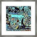 Ettore's Dream Cars Framed Print