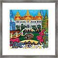 Exotic Bangkok Framed Print by Lisa  Lorenz