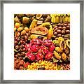 Exotic Fruit Framed Print