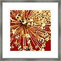 Explosion Enhanced Framed Print