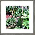Expressionalism Beautiful Garden  Framed Print