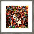 Extravagant Beauty Framed Print