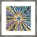 Eye Of The Portal 7th Dimension Activation 4 Framed Print