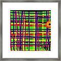 Eyes On The Grid Framed Print