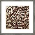 Ezra - Tile Framed Print