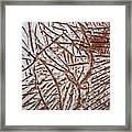 Ezras Day - Tile Framed Print
