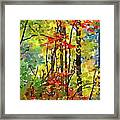Fall Forest 2 Framed Print